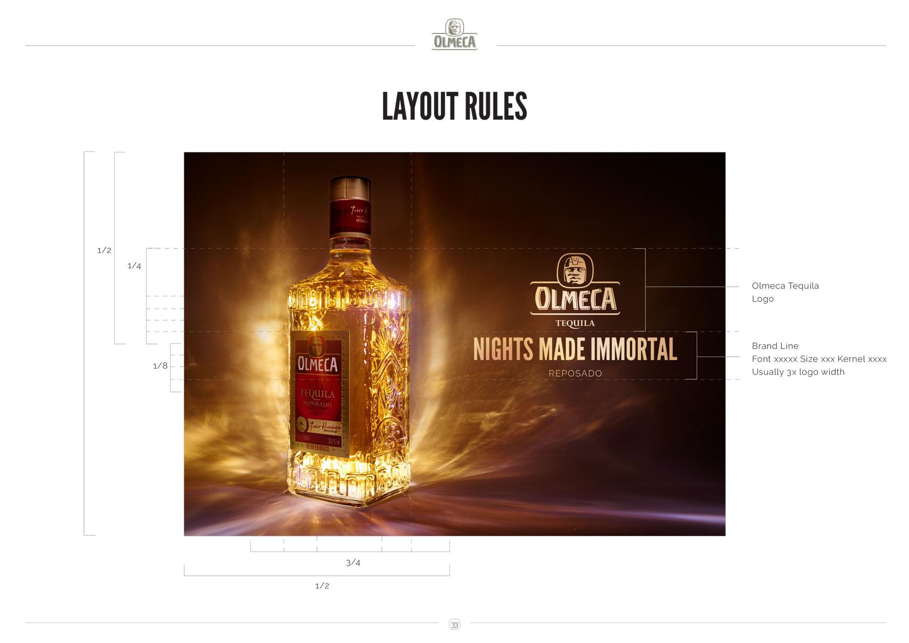 Olmeca Tequila Campaign Guidelines - DANILA LUPPINO